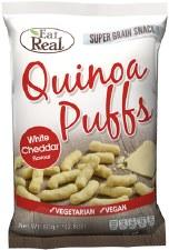 Quinoa Puffs - White Cheddar Flavour