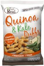 Quinoa & Kale Puffs - Jalapeno & Cheddar Flavour