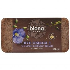 Rye Omega Golden Linseed Bread