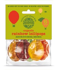 Rainbow Lollipops