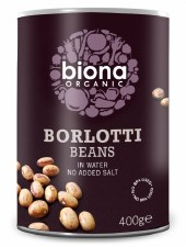 Borlotti Beans in water