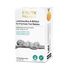 Lactobacillus Y Bifidus for Formula Fed Babies