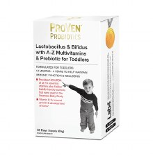 Lactobacillus & Bifidus with A-Z Multivitamins & Prebiotic for Toddlers