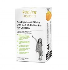 Acidophilus & Bifidus with A-Z Multivitamins for Children