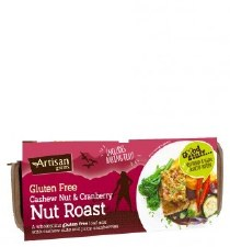 Cashew & Cranberry Nut Roast GF