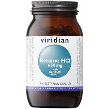 Betaine HCL 650mg