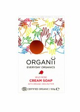 Organic Wild Rose Soap Bar