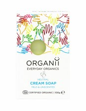 Organic Natural Unscented Soap Bar