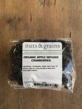 Org Cranberries Apple Infused