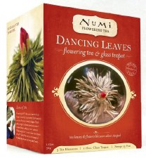 Dancing Leaves Flowering Tea Set