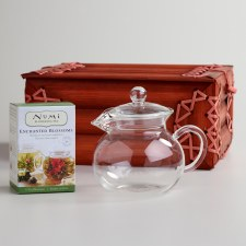 Flowering Tea Set in Bamboo