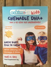 Eskimo-3 Kids Chewable DHA+