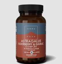 Astragalus, Elderberry and Garlic Complex