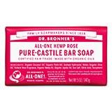 Dr Bronners Rose Bar Soap