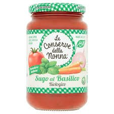 Organic Tomato & Basil Sauce
