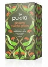 Ginseng Matcha Tea