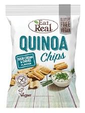 Quinoa Chips Sour Cream & Chiv
