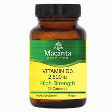 Vitamin D3 2,500iu
