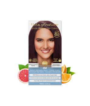Permanent Hair Colour - 4M Medium Mahogany Brown