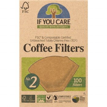 Unbleached Coffee Filters No2