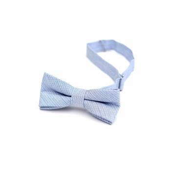 Bow Tie Sky Blue Stripe