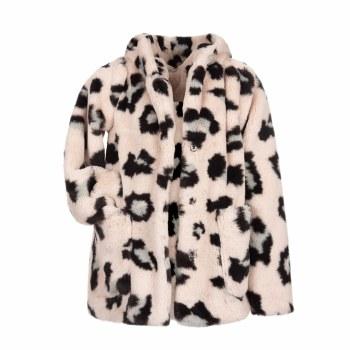 Cleo Faux Fur Coat 7