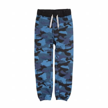 Gym Sweats Navy Camo 2