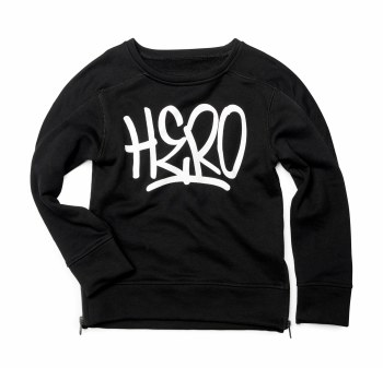 Contra Sweatshirt Blk Hero 7