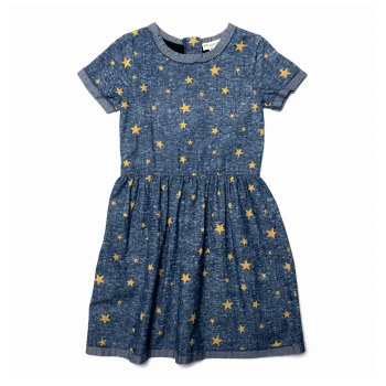 Maisy Dress Gold Stars 4