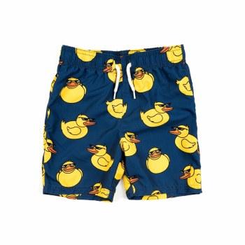 Retro Duck Swim Shorts 5