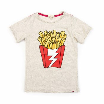 Shazam Fries Tee Cloud 6-12M