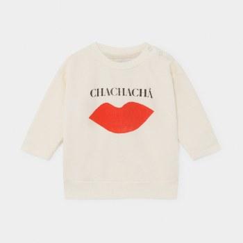 Chachacha Kiss Baby Sweatshirt 3-6M
