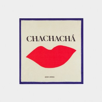Chachacha Kiss Square Scarf
