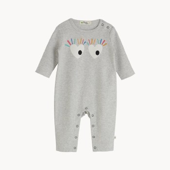 Abstract Playsuit Eyes 9-12M