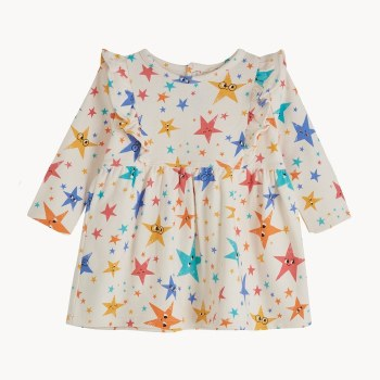 Candy Frill Dress Stars 2/3