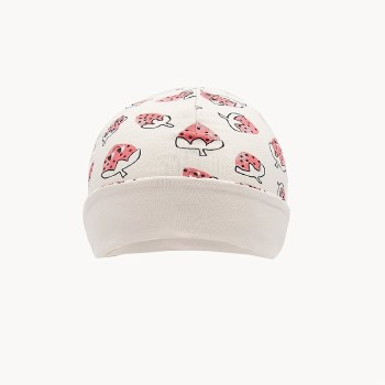 Shadow Baby Hat Strwbrry 6-12M