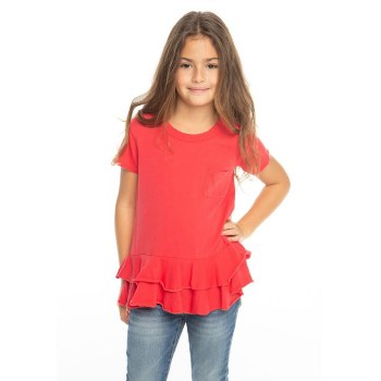 Peplum Pocket Tee Lollipop 5