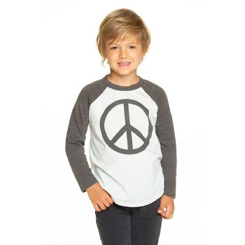 Peace Baseball Tee Safari 6