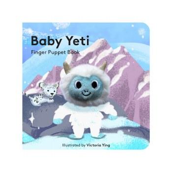 Baby Yeti Finger Puppet Book