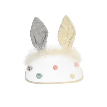 Bunny Ear Visor Ivory