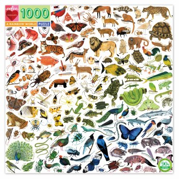 A Rainbow World 1000-Piece Puzzle