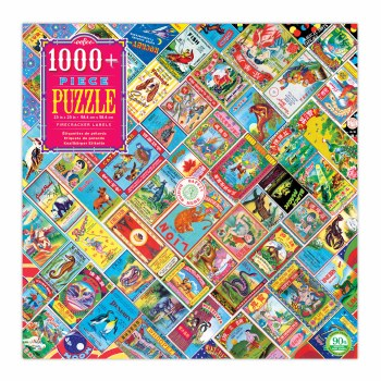 Firecracker Labels 1008-Piece Puzzle