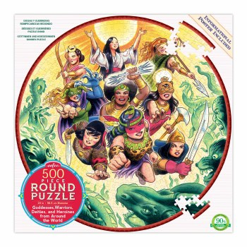 Goddesses and Warriors 500-Piece Puzzle
