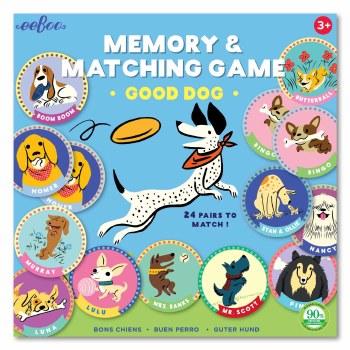 Good Dog Memory & Matching Game