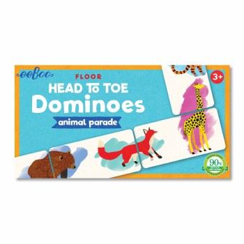 Head-to-Toe Dominoes Animal Parade