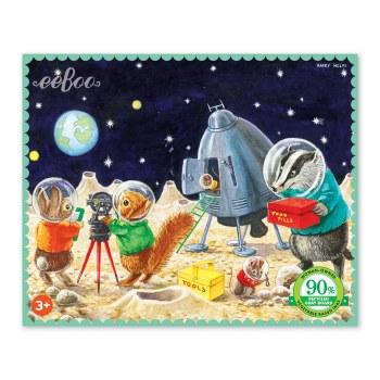 Mini Puzzle On The Moon