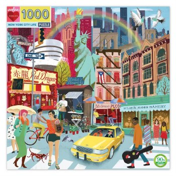 New York City Life 1000-Piece Puzzle