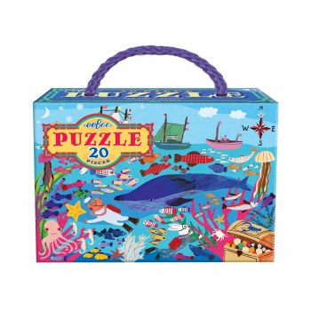 Sea Life 20-Piece Puzzle