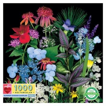Summer Garden Sampler 1000-Piece Puzzle