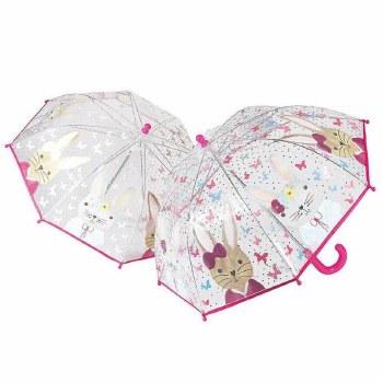 Color Changing Umbrella Bunny